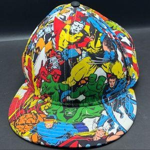 Marvel comics superhero hat cap avengers x-men L